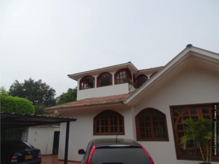 vendo casa espectacular en la viga pance al sur de cali