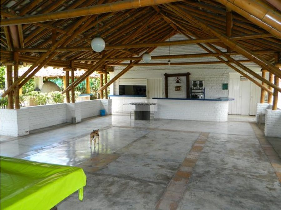 casa campestre en venta en rozo palmira