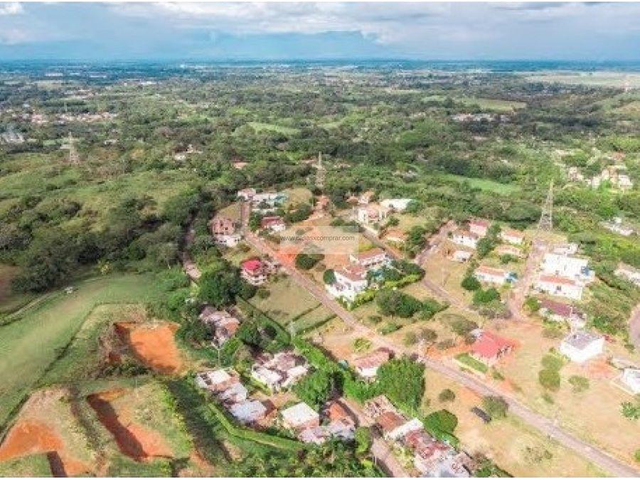 vendo lote economico en condominio sun village en jamundi