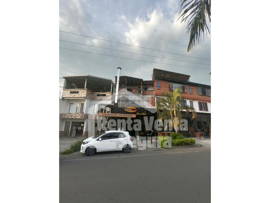 venta casa con locales comerciales y vivienda altamira palmira