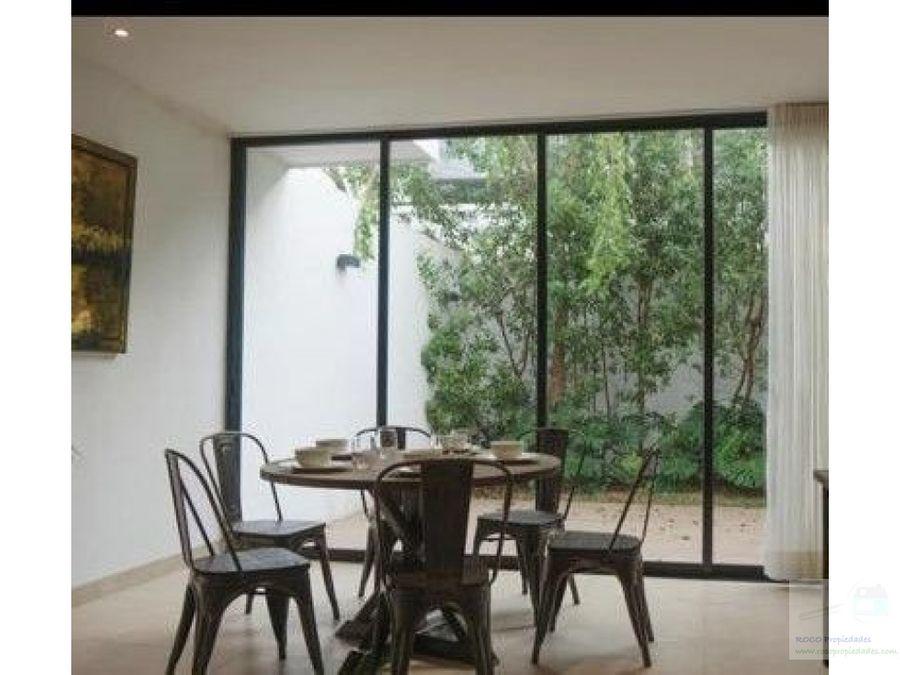 renta casa montebello merida yucatan 23000 3 recamaras
