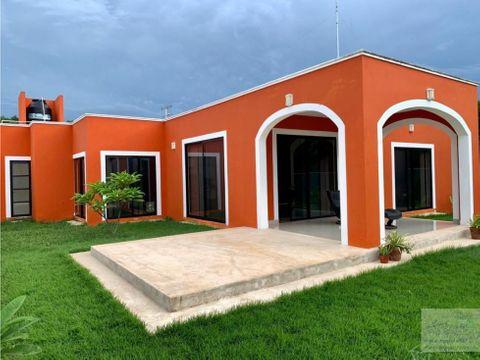 venta casa tipo hacienda la ceiba ii en merida yucatan