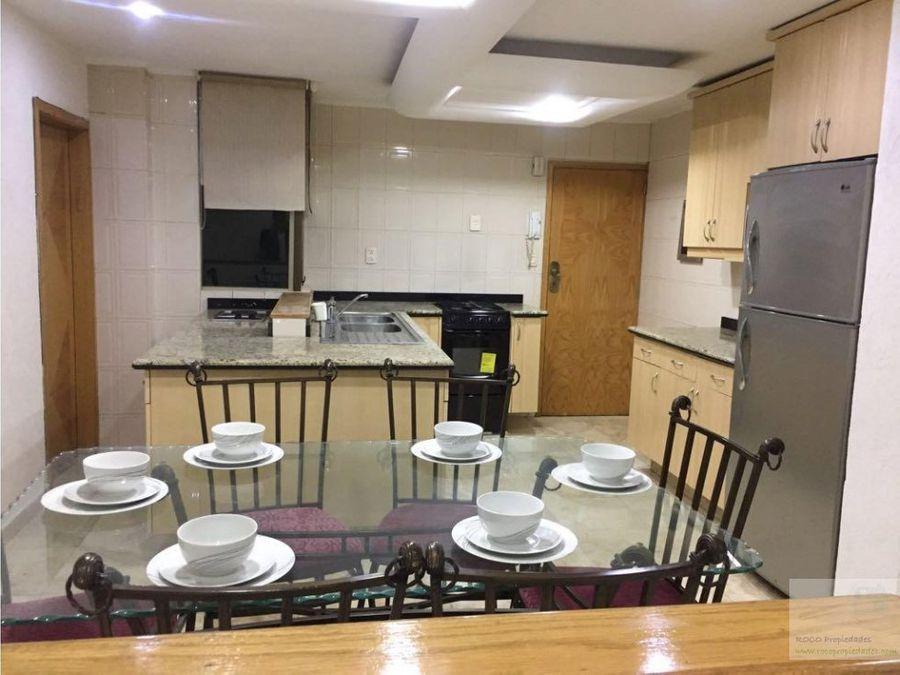 renta departamento amueblado en polanco 35000 incluye mantenimiento