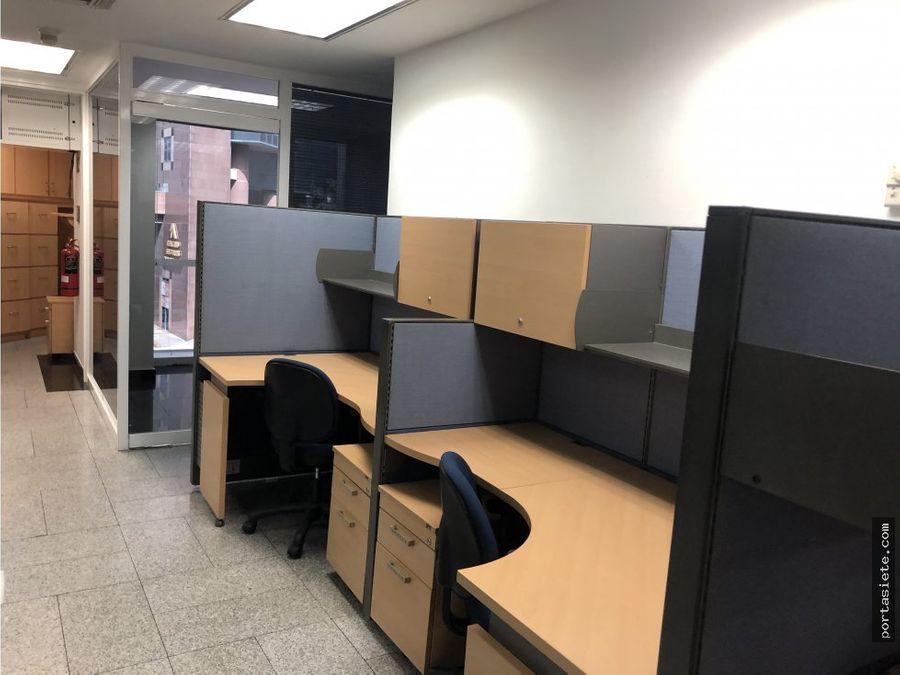 alquiler oficina amoblada de 131 mts