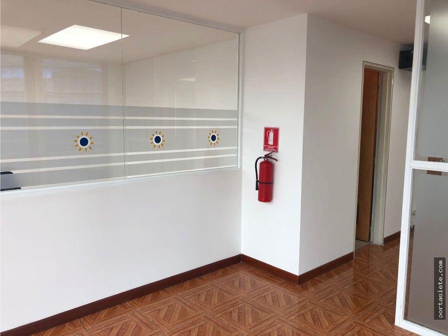 portafolio siete vende oficina en el rosal 65 mts