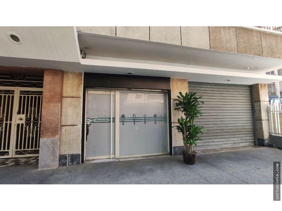 en alquiler local en lpg con ubicacion ideal a pie de calle