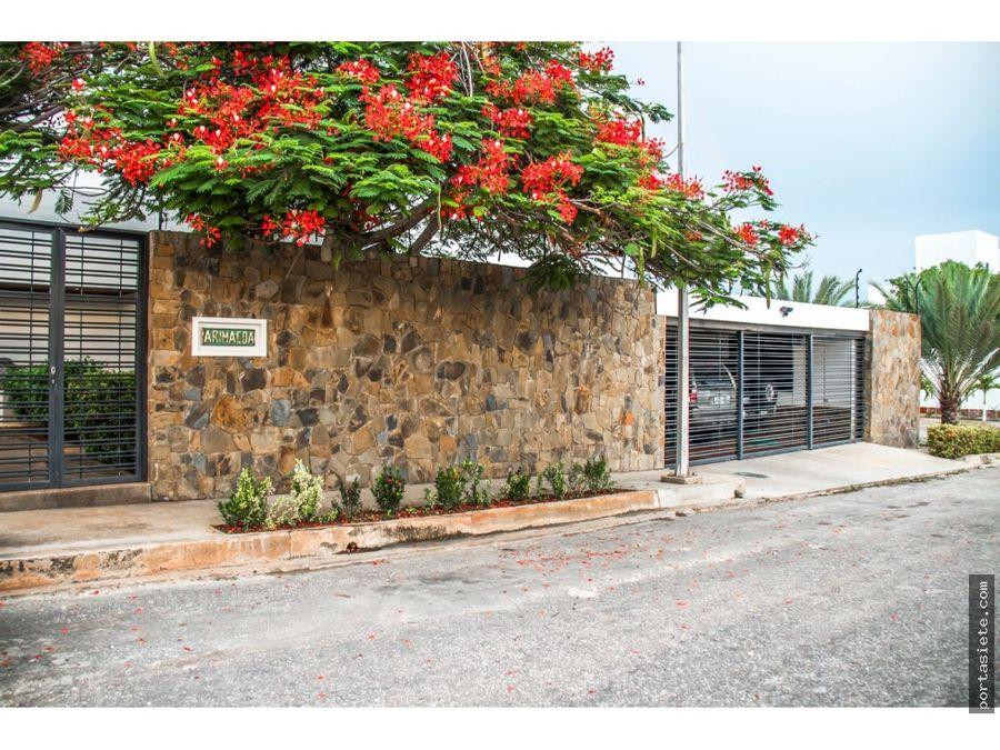 portafolio siete vende quinta en pampatar isla de margarita