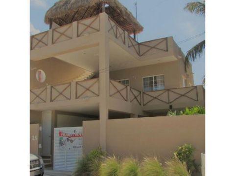 casa arenita a 60 metros de la playa de chelem
