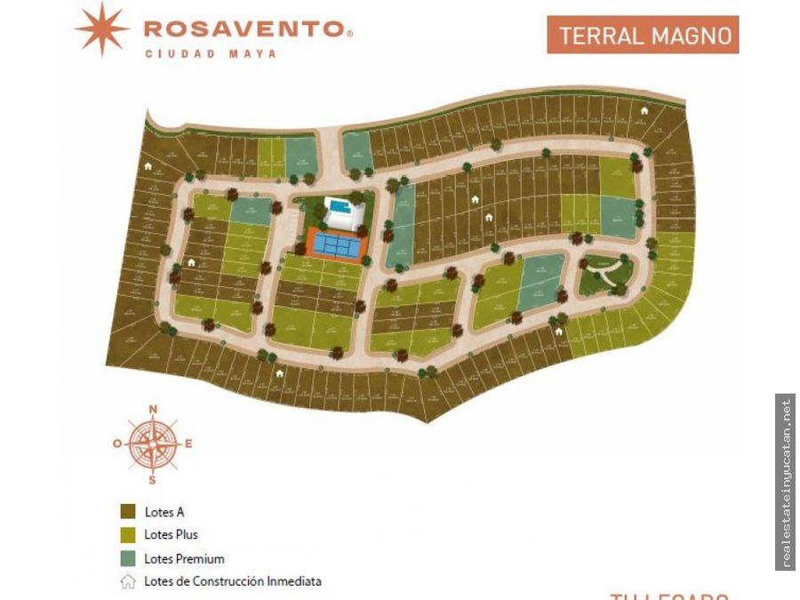 lotes de inversion urbanizados en sierra papacal