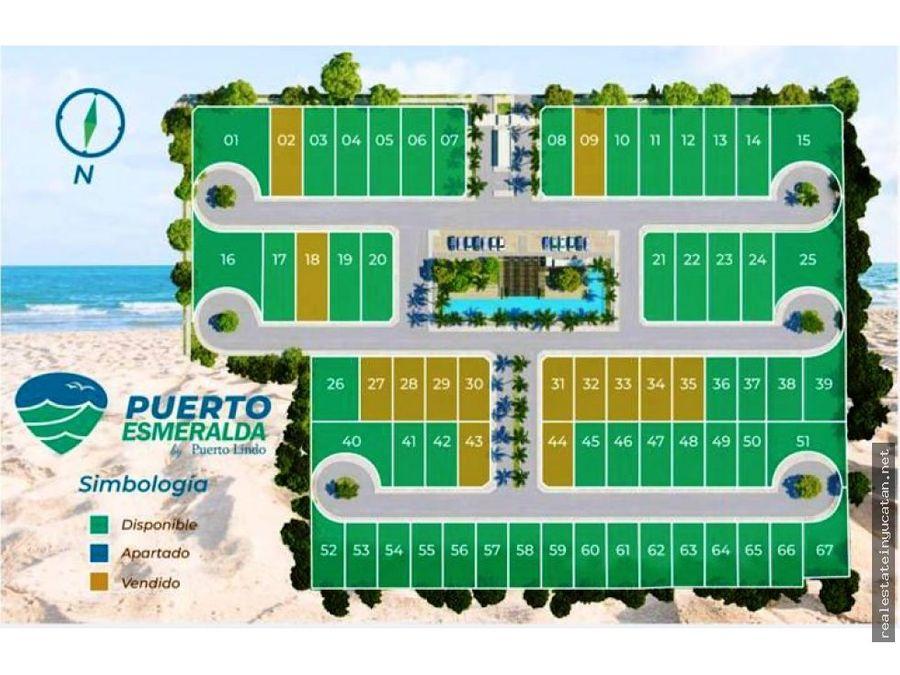 lotes urbanizados en residencial puerto esmeralda