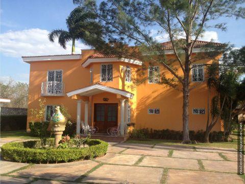 linda casa estilo campestre en dzitya