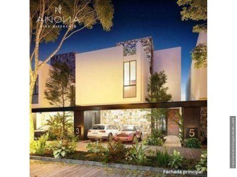 casa residencial anona de tres niveles