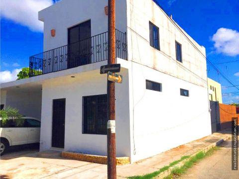 rento townhouse amueblado frente a plaza galerias norte yucatan