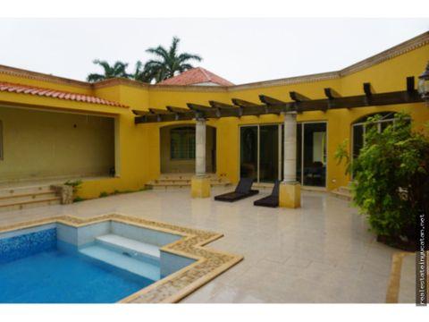 preciosa casa en area dzitya yucatan