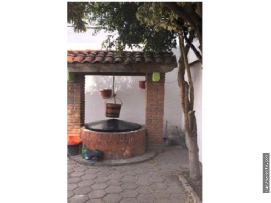 casa de un solo nivel santiago momoxpan san pedro cholula