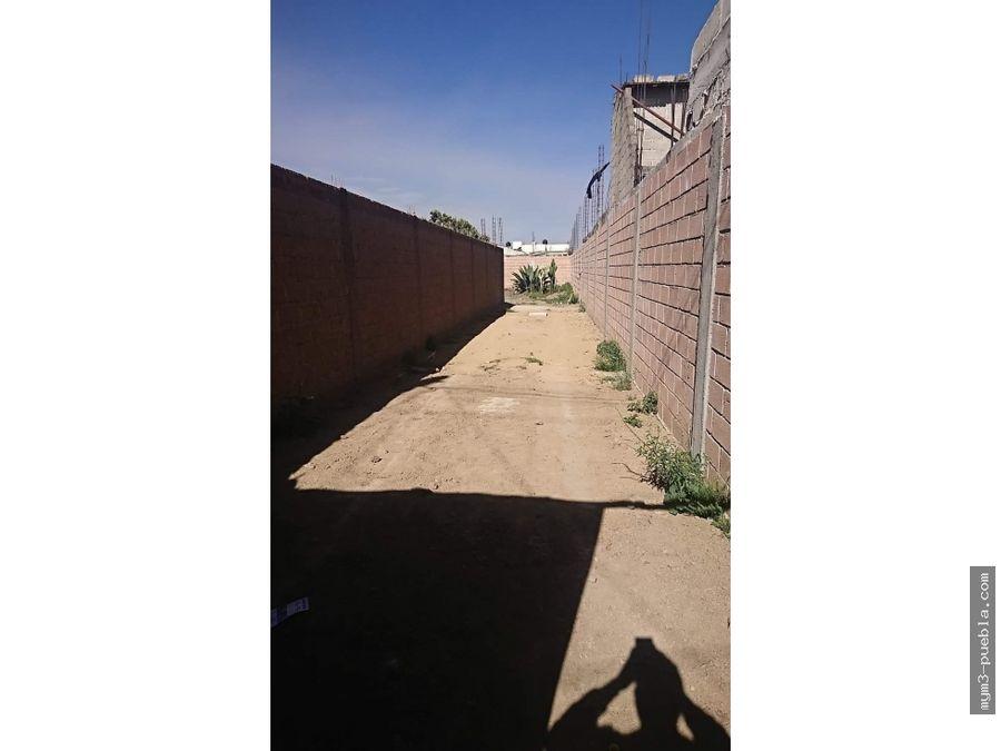 terreno sur de ciudad de cholula en venta