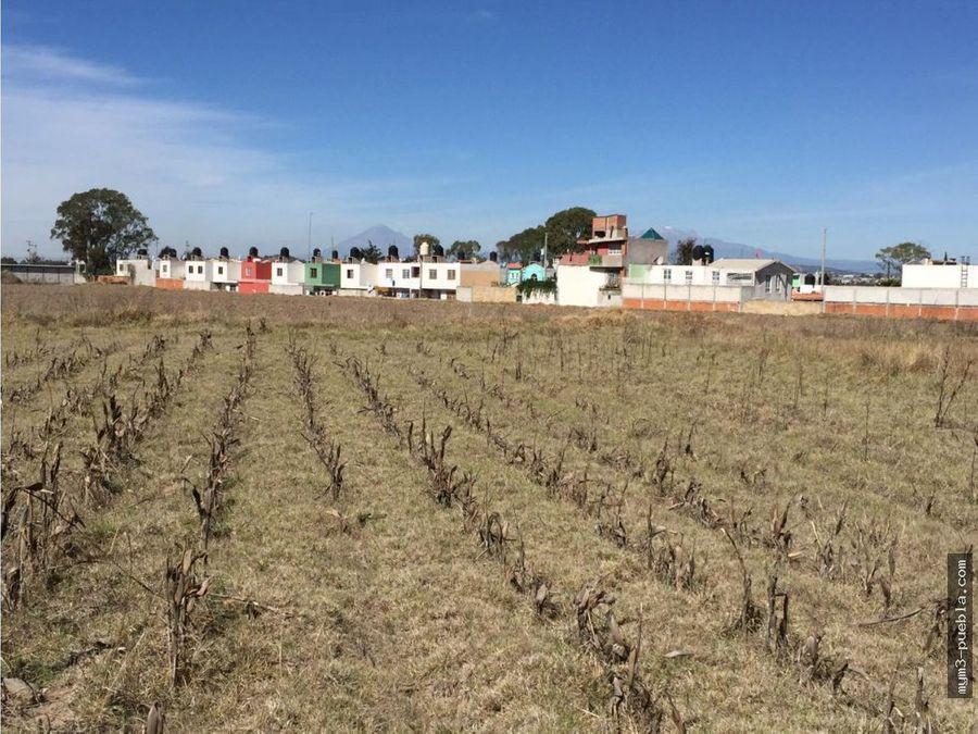 terreno 19500 m2 en tlaxcala