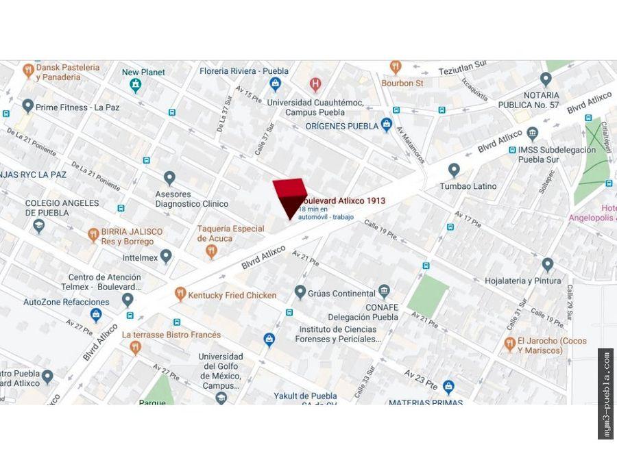 locales comerciales en venta sobre blvd atlixco