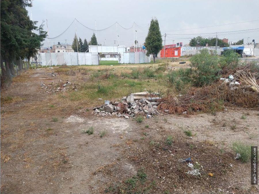 terreno en renta sur ciudad san pedro cholula
