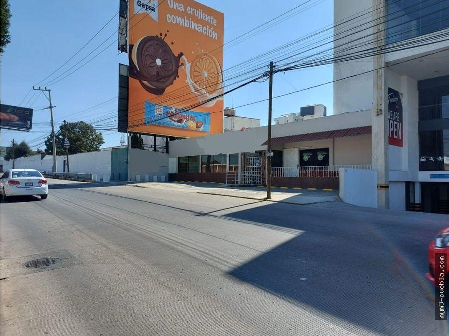 local comercial sobre avenida zavaleta sur en puebla