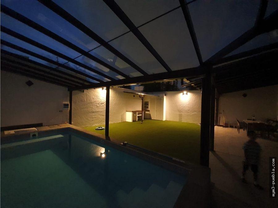 casa con alberca en venta en fracc santa cruz guadalupe poniente