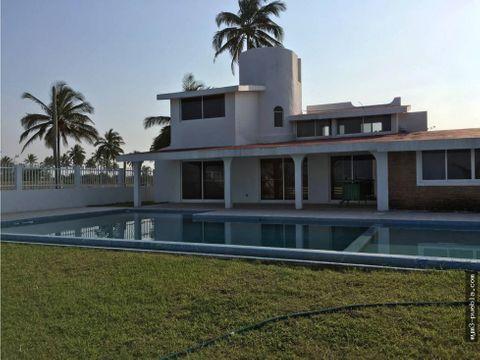 casa en venta con alberca en costa esmeralda veracruz