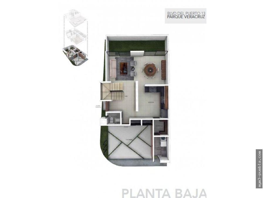hermosa casa en p veracruz en lomas iii