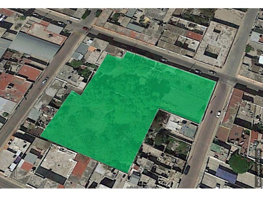 terreno comercial renta tecamachalco 4500 m2