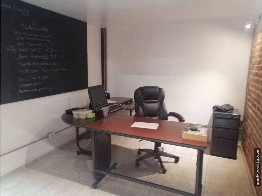 oficinas con bodega en cholula