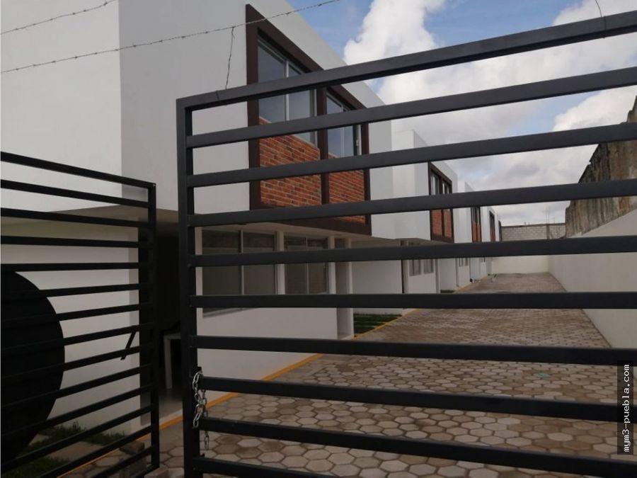 casa en conjunto cerrado amozoc centro