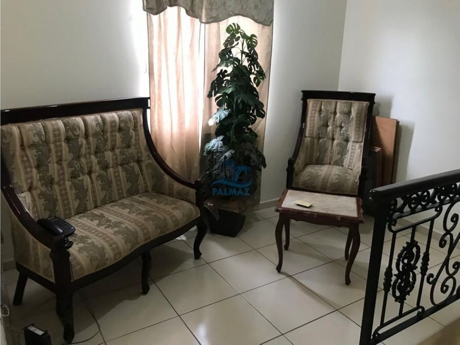 rento casa amueblada 3 recamaras con alberca comun