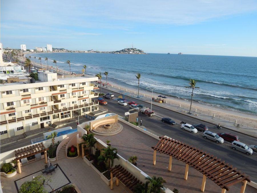 condominio venta mazatlan frente a playa y malecon