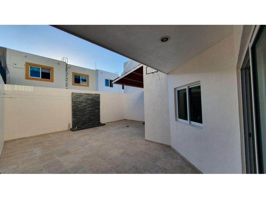 casa sin muebles en renta 3 recs cerca de playa y zona dorada