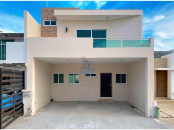 casa nueva en venta en real del valle 3 recs 25 banos
