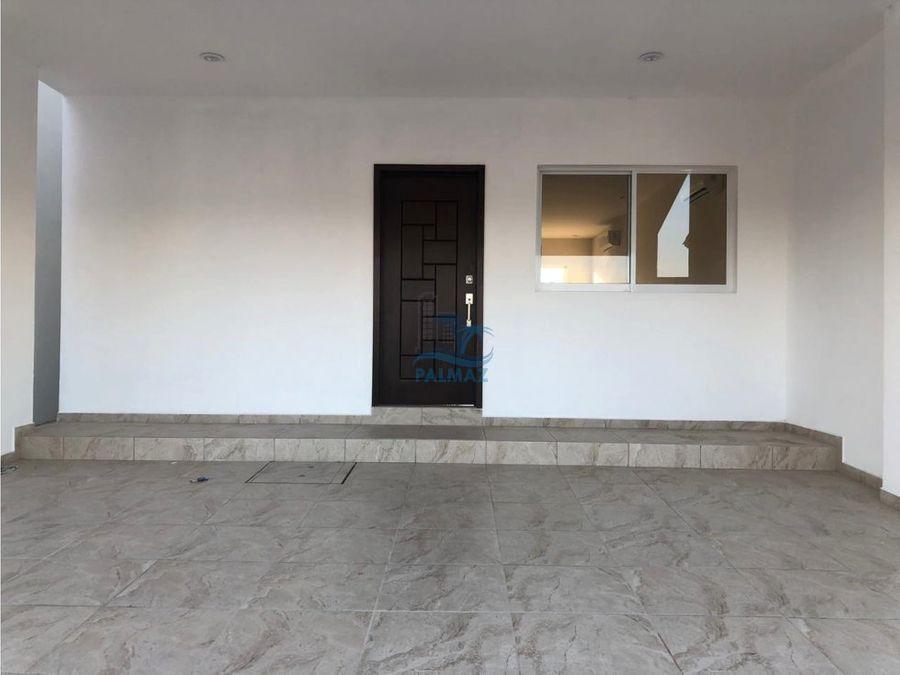 renta casa nueva sin muebles en el cid mazatlan 3 recs alberca