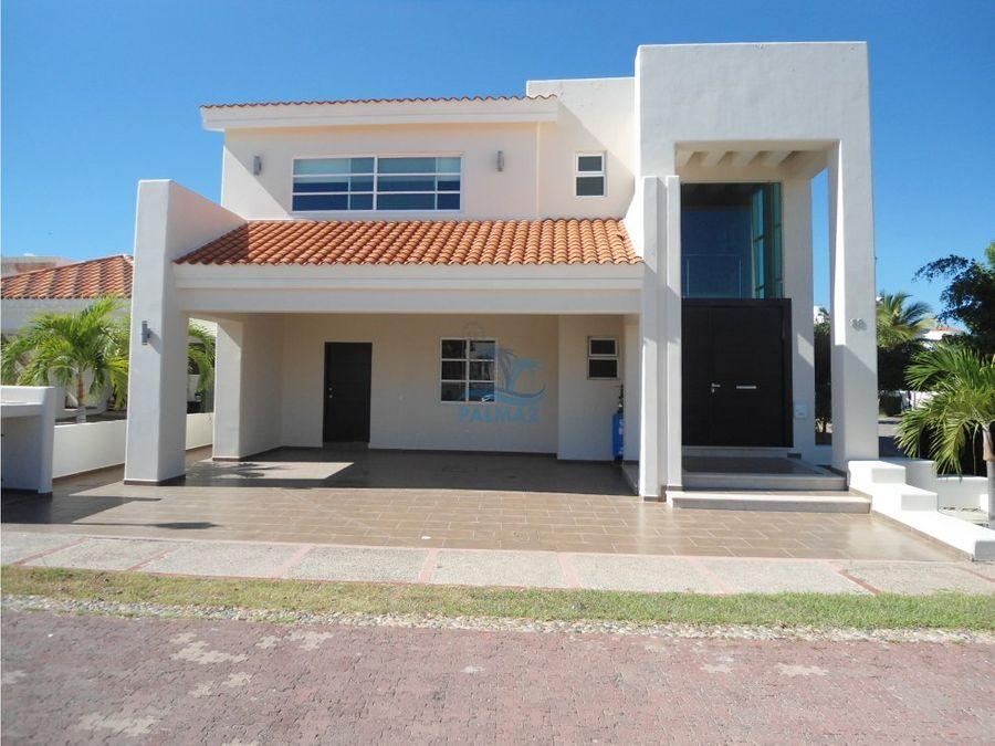 casa en venta en mazatlan 4 recamaras club real