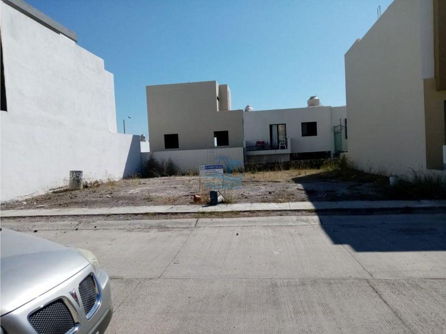 terreno en venta en mazatlan real del valle coto 15 128 m2 8 x 16