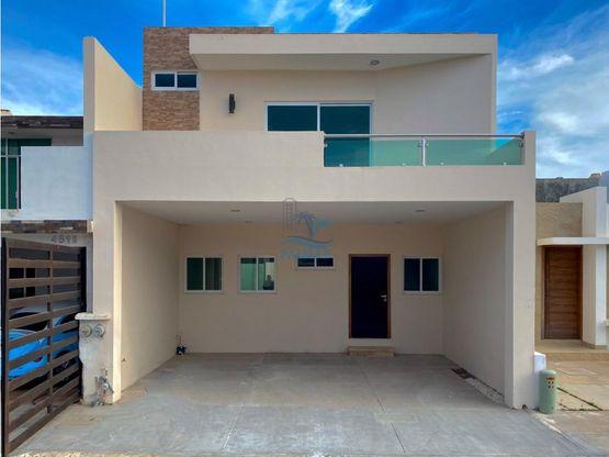 casa nueva real del valle 3 recamaras alberca