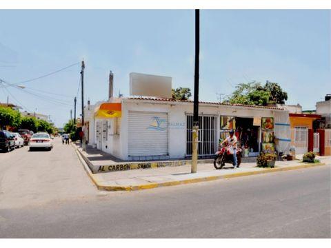 casa venta mazatlan de 2 recamaras y 3 locales