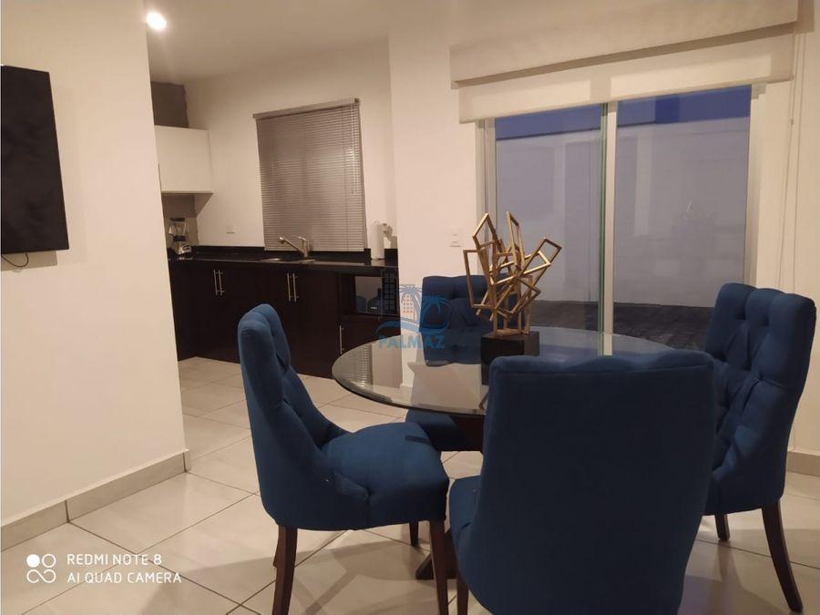 casa nueva en renta coto priv 3 rec amueblada