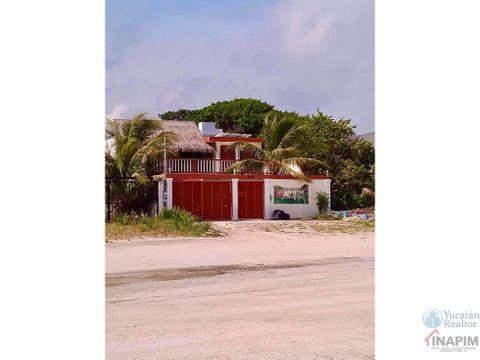 magnifica casa en venta frente al mar progreso