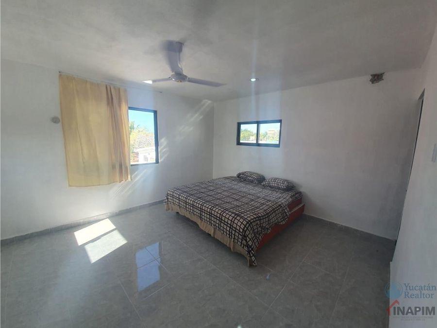 casa de 3 habitaciones y 2 banos en chixchulub puerto