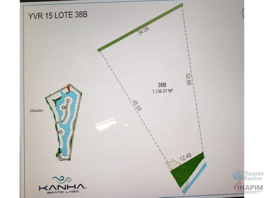 terreno en venta en privada khana yucatan country club