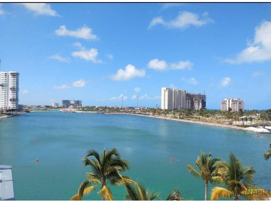 departamento marina condo puerto cancun