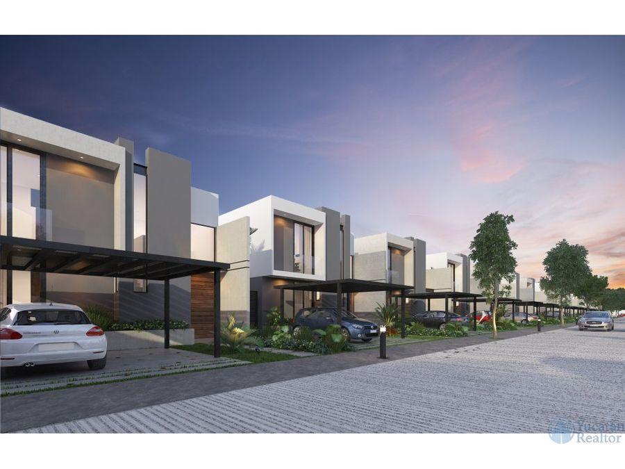 casa venta norte de merida en privada dzitya