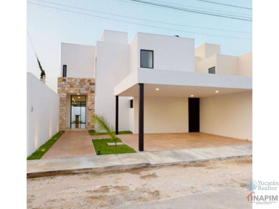 casa en venta de 4 recamaras en temozon norte merida