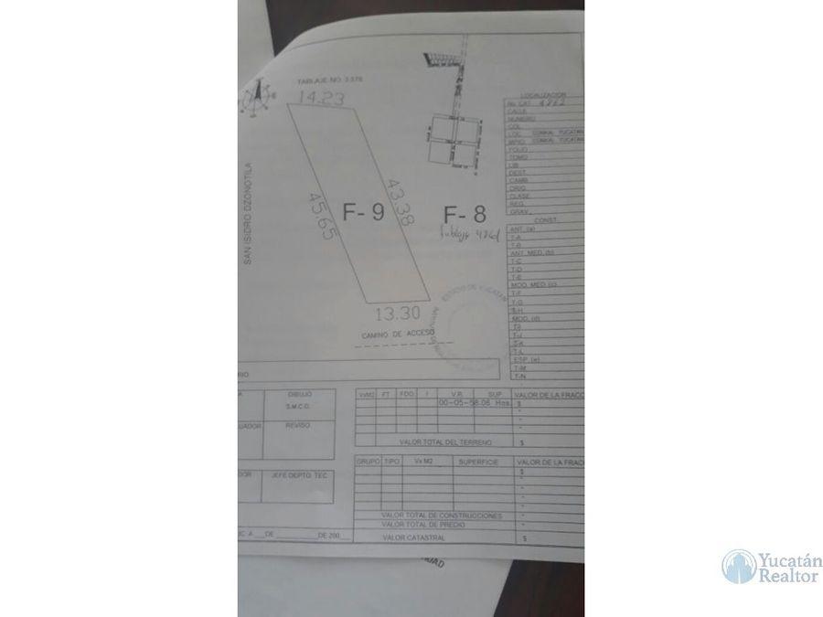 venta de terrenos en conkal