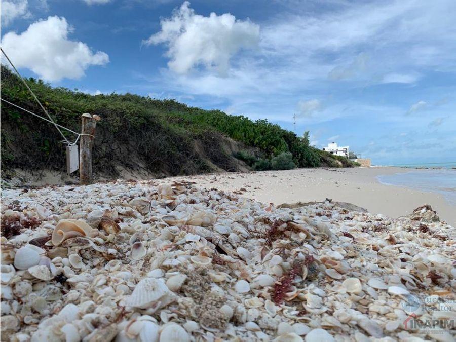 terreno en venta ubicado frente al mar