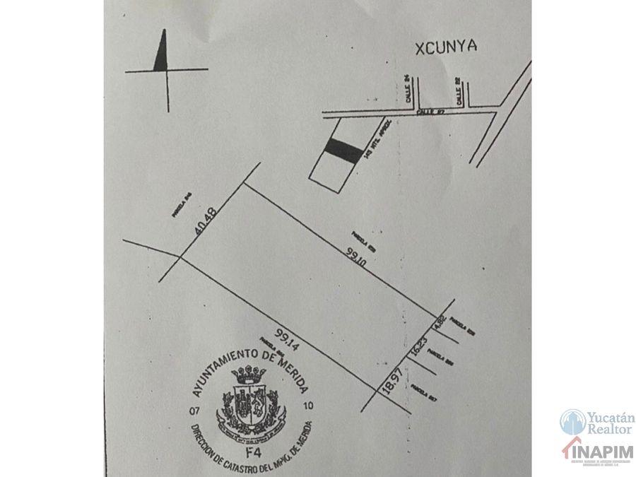 terreno en venta xcunya yucatan