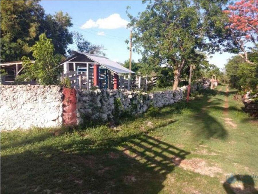 hermoso rancho de 8 has a 20min de merida yucatan